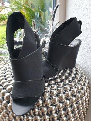 Balenciaga Sandały na obcasie czarny