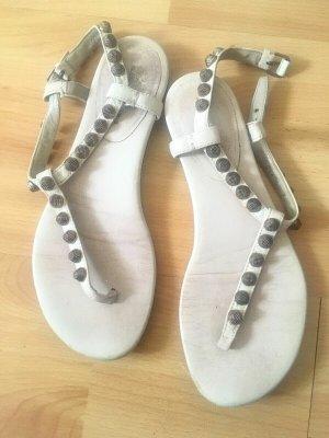 Balenciaga Sandały z rzemykami Wielokolorowy Tkanina z mieszanych włókien