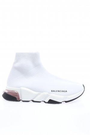 "Balenciaga Slip-on Sneakers ""Speed Sneakers Clearsole"" white"