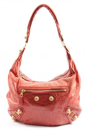 Balenciaga Shoulder Bag red-gold-colored casual look