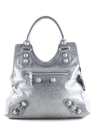Balenciaga Borsa a tracolla grigio chiaro-argento stile casual