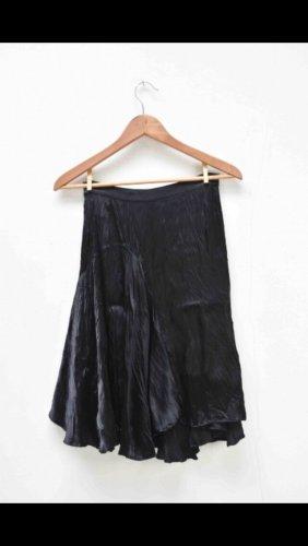 Balenciaga Falda de seda negro