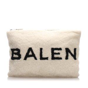 Balenciaga Pochette blanc pelage