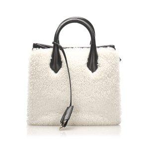 Balenciaga Sacoche blanc pelage