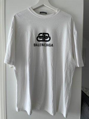 Balenciaga Camisa holgada blanco-negro