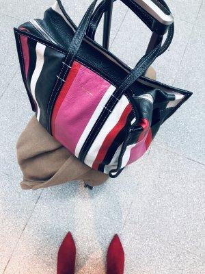 Balenciaga Shopper multicolored leather