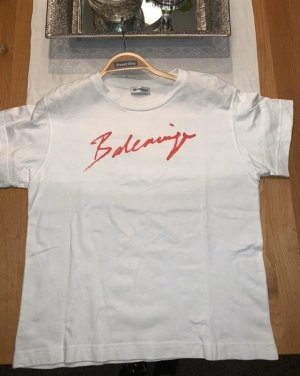 Balenciaga Signature Cropped T-Shirt
