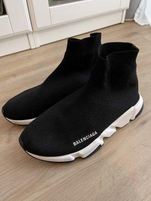 Balenciaga Sneaker slip-on nero-bianco
