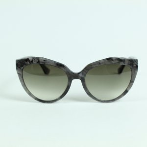 Balenciaga Oval Sunglasses anthracite-grey