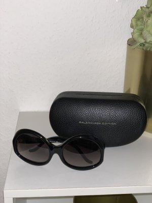 Balenciaga Gafas de sol ovaladas negro