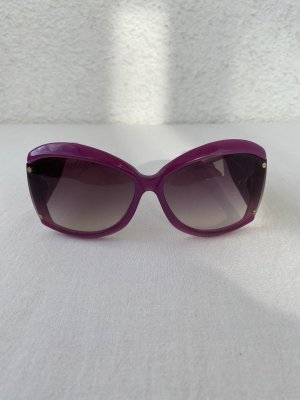 Balenciaga Oval Sunglasses multicolored