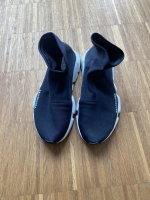 Balenciaga Slip-on Sneakers black-white