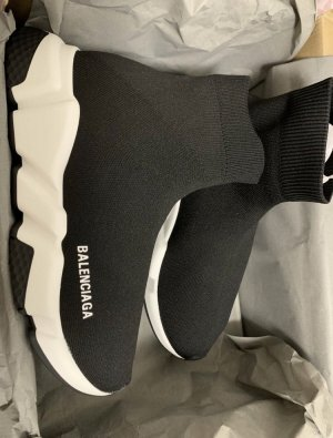 Balenciaga Heel Sneakers black-white