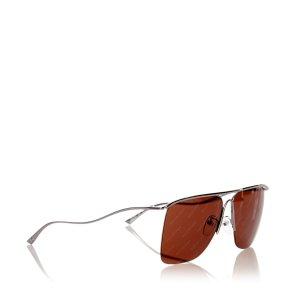 Balenciaga Gafas de sol marrón metal