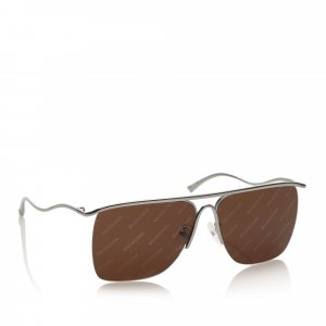 Balenciaga Sunglasses brown metal