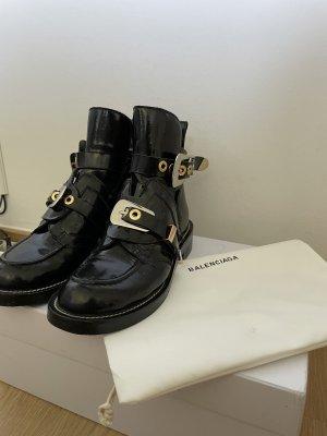 Balenciaga Heel Boots black