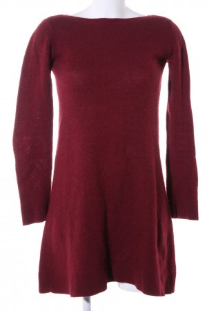 Balenciaga Knitted Dress red casual look