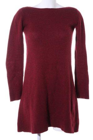 Balenciaga Robe en maille tricotées rouge style décontracté