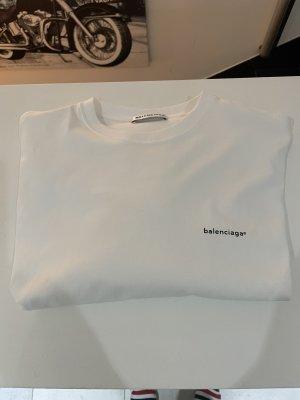 Balenciaga Camisa holgada blanco Algodón