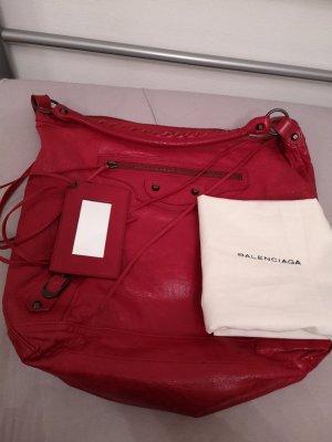 Balenciaga Handbag neon red-raspberry-red