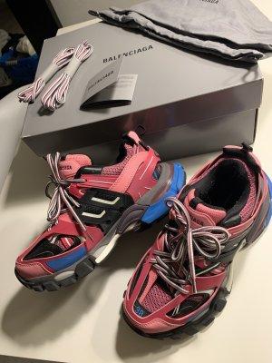 Balenciaga Track Trainers Pink/Blue