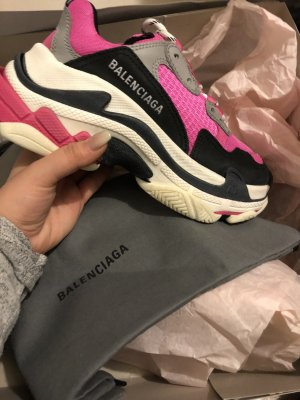 Balenciaga Heel Sneakers multicolored