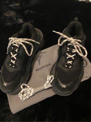 Balenciaga Triple S clear sole 38