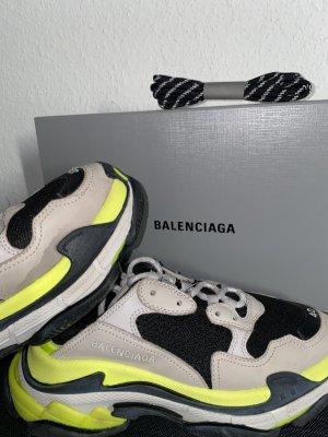 Balenciaga Triple S Neon Yellow