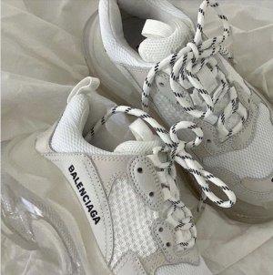 Balenciaga Sneakers met veters wit