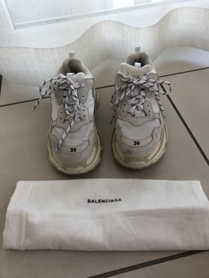 Balenciaga Lace-Up Sneaker multicolored leather