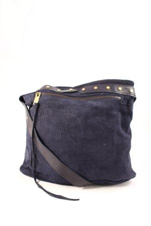 Balenciaga Crossbody bag dark blue street-fashion look