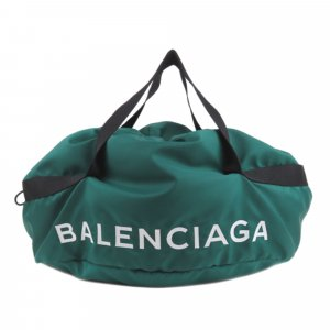 Balenciaga Travel Bag green nylon