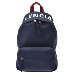 Balenciaga Backpack blue textile fiber
