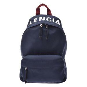 Balenciaga Backpack blue textile fiber