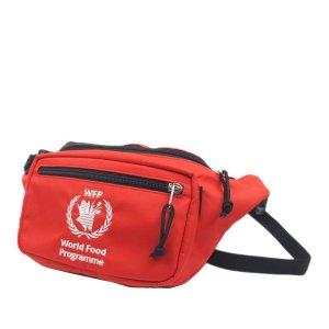 Balenciaga World Food Programme Nylon Belt Bag