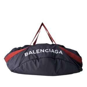 Balenciaga Travel Bag blue nylon