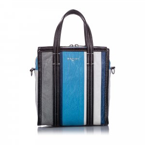 Balenciaga Tornister niebieski Skóra