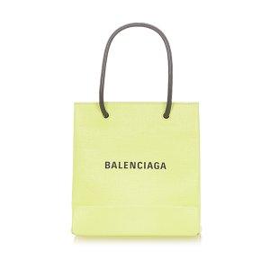 Balenciaga Satchel yellow leather