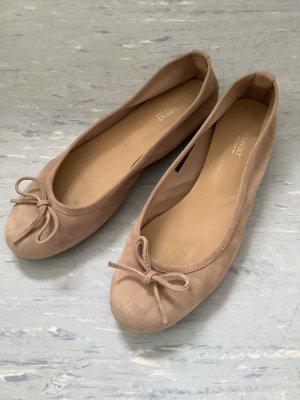Drievholt Mary Jane Ballerinas mauve leather