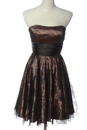 Balina Suknia wieczorowa brąz Elegancki
