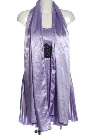 Balina Sukienka mini fiolet-czarny Elegancki