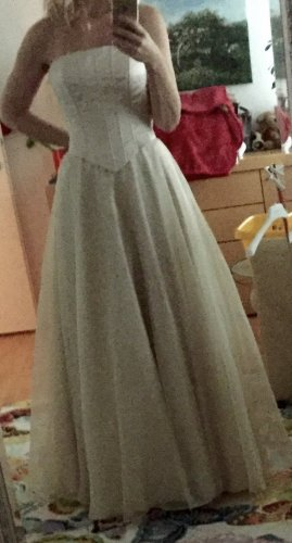 Balina Suknia balowa kremowy
