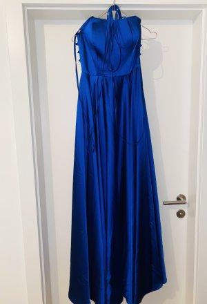 Egoist Vestido de baile azul Gasa