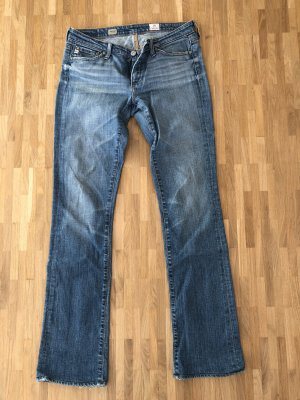 Adriano Goldschmied Jeans bootcut bleu