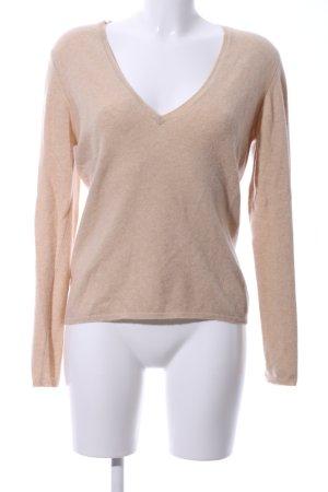 Ballantyne V-Ausschnitt-Pullover nude Casual-Look