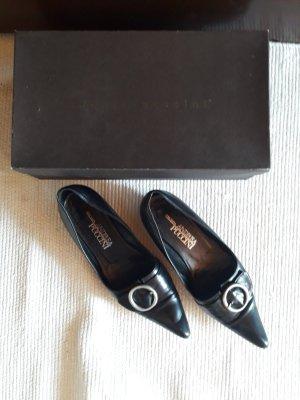 Andrea Puccini Ballerinas with Toecap black