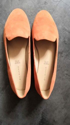 5th Avenue Ballerines classiques cognac-orange