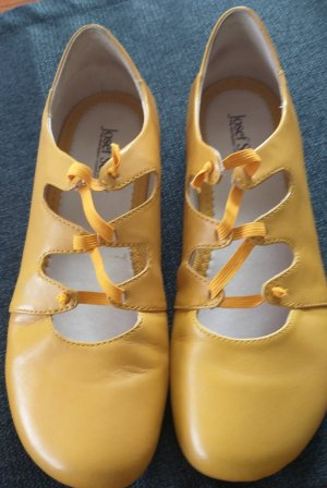 Josef seibel Ballerines à lacets jaune