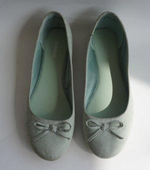 Graceland Ballerines pliables bleu clair