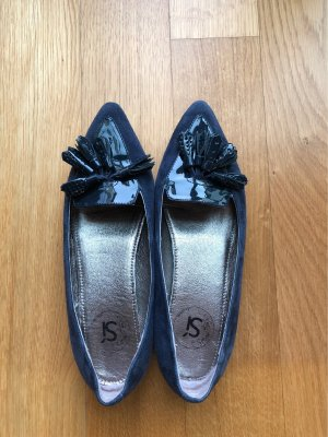 Si Barcelona Ballerinas with Toecap dark blue